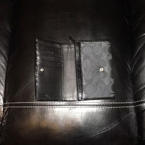 Coach Bags - Coach Black Wallet